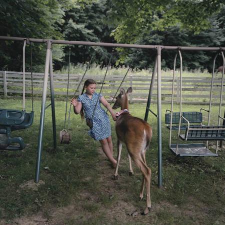 Фотопроект Amelia's world – животные в мире одной девочки — фото 9
