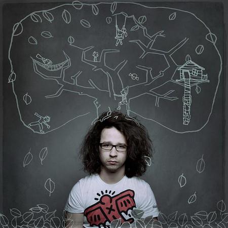 Интересный школьный альбом от фотостудии «Слон» – дорисованная мелом реальность — фото 15