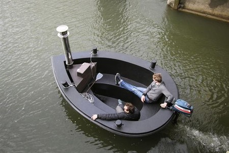Лодки Hot Tub Boat – с теплым бассейном-джакузи и музыкой — фото 14