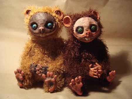 Милые монстры – игрушки Марии Santani — фото 16