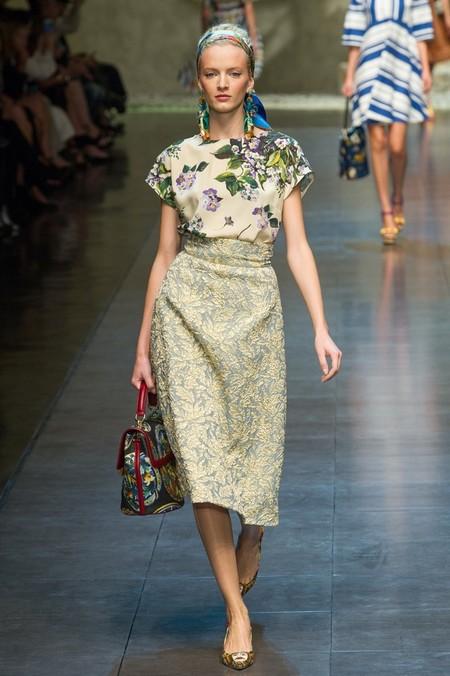 Сицилия от Dolce & Gabbana - женская коллекция весна-лето 2013 — фото 53
