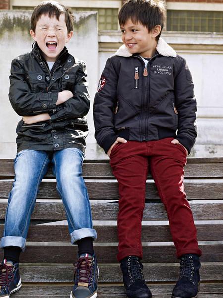 В меру взрослая детская коллекция Pepe Jeans 2013 — фото 2