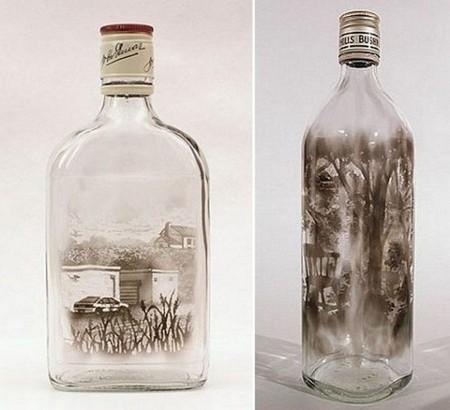 Дымный мир внутри бутылки – работы Джима Динджилиана — фото 5