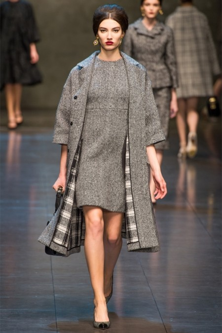 Dolce & Gabbana осень-зима 2013-2014 – когда всего слишком много — фото 31