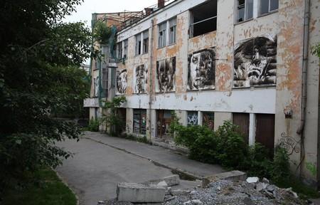 В память о ВОВ – лица, нарисованные огнем и «коктейлем Молотова». Проект T-Radya — фото 22
