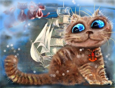 Коты и кошки Бориса Касьянова — фото 35