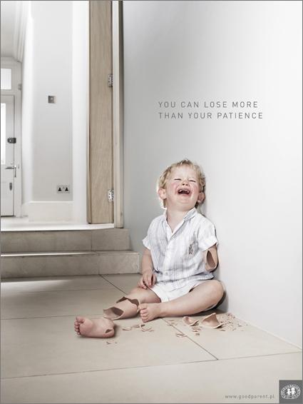 Сила социальной рекламы - детская тема — фото 1