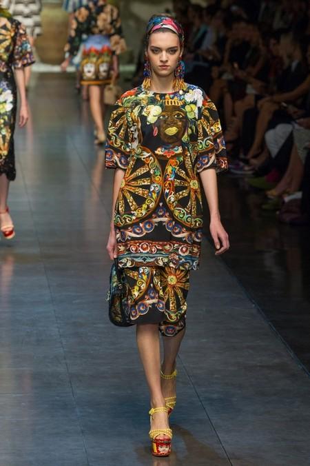 Сицилия от Dolce & Gabbana - женская коллекция весна-лето 2013 — фото 21