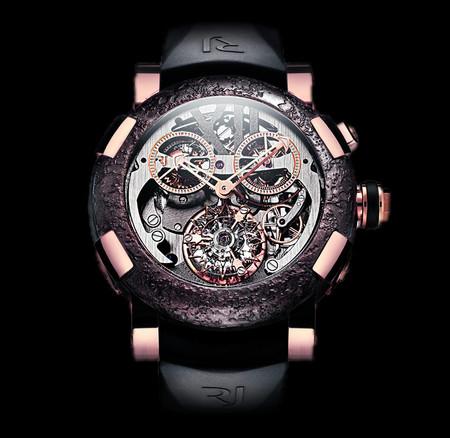 История на запястье – часы от Romain Jerome с ДНК вулкана, Титаника и Луны — фото 11