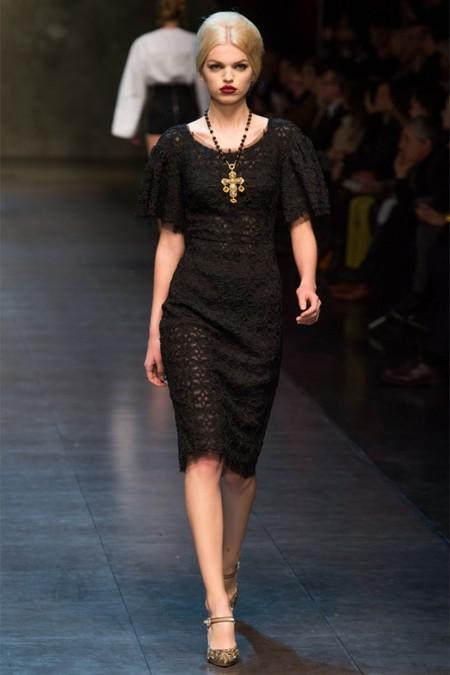 Dolce & Gabbana осень-зима 2013-2014 – когда всего слишком много — фото 38