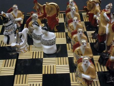 Шахматы на Нэцке похожие