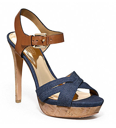Коллекция обуви от Coach весна-лето 2013 – каблуки, платформа, мокасины, сандалии! — фото 18