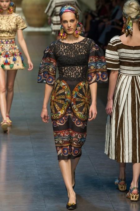Сицилия от Dolce & Gabbana - женская коллекция весна-лето 2013 — фото 61