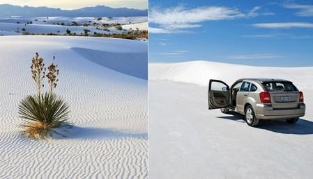 Белая жара в пустыне White Sands National Monument — фото 13