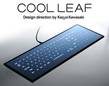 Cool Leaf - клавиатура без клавиш — фото 1