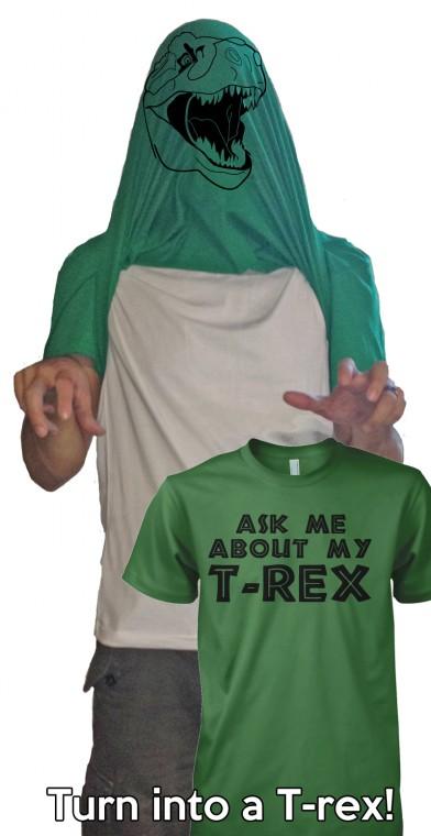 Спроси меня про моего тиранозавра