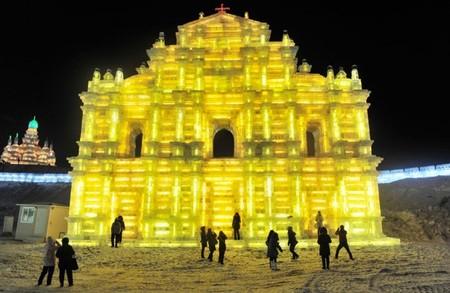 Фестиваль Ледяных дворцов в китайском Харбине – зимняя сказка — фото 10