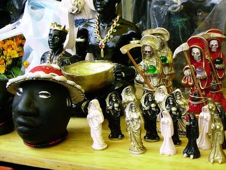 Большой рынок товаров для колдовства в Мексике — фото 23