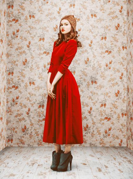 Ретро-осень – коллекция Ульяны Сергеенко — фото 12