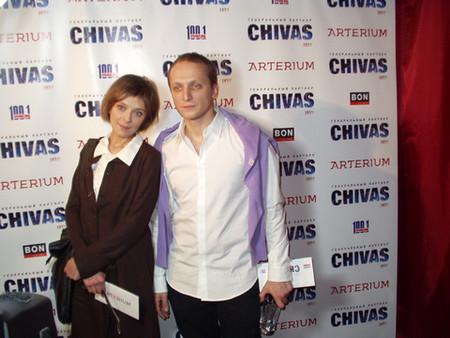 Владимир Мишуков с женой Инной