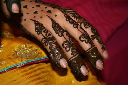 Менди – украшение не только для индийских принцесс — фото 46