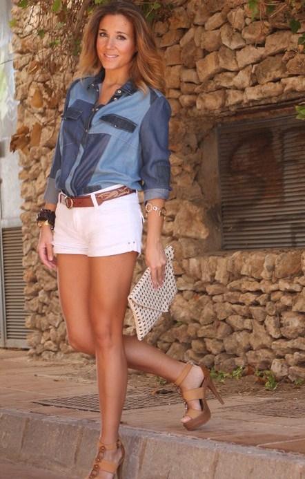 Ода джинсовой рубашке – сочиняем образы — фото 22