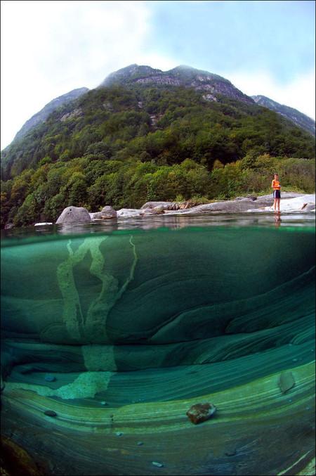 Река Верзаска – холодная, чистая и идеально прозрачная — фото 10