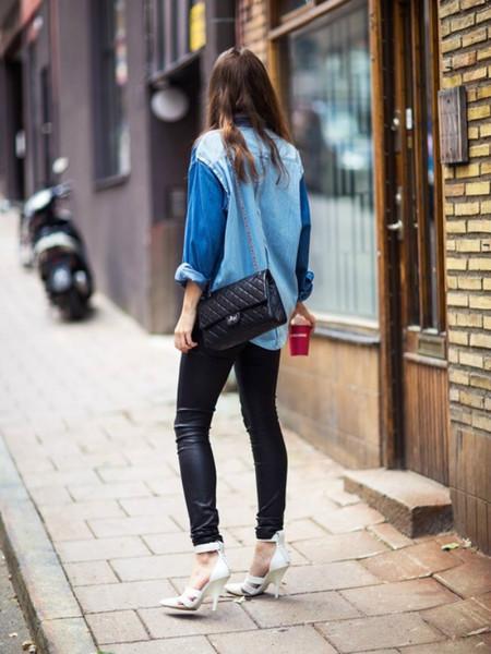 Ода джинсовой рубашке – сочиняем образы — фото 48