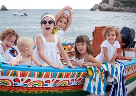 Самым любимым – детская коллекция Dolce&Gabbana весна-лето 2013 — фото 22