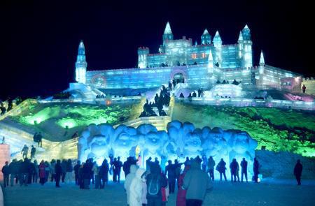 Фестиваль Ледяных дворцов в китайском Харбине – зимняя сказка — фото 2