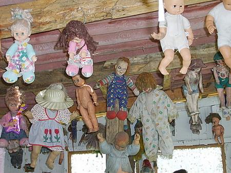 Остров кукол в Мексике – место не для детей — фото 26