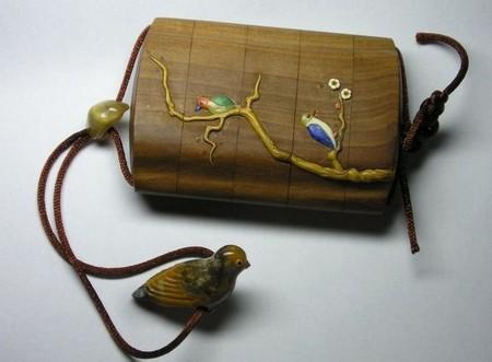 Сагемоно-инро – японский карман. Почему в настоящем нэцкэ должно быть две дырочки? — фото 15