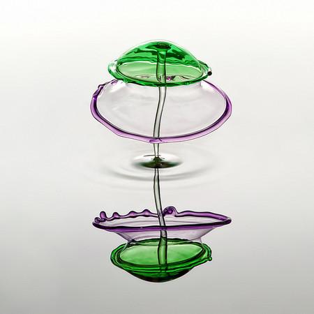 Скульптуры из … воды. Макрофотографии разноцветных капель — фото 34