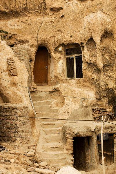 Кандован: странный город – термитник в Иране — фото 6