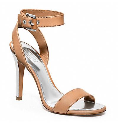 Коллекция обуви от Coach весна-лето 2013 – каблуки, платформа, мокасины, сандалии! — фото 3