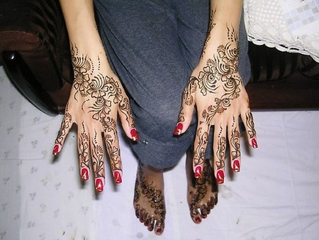 Менди – украшение не только для индийских принцесс — фото 36