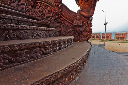 Храм Истины – настоящий деревянный шедевр — фото 19