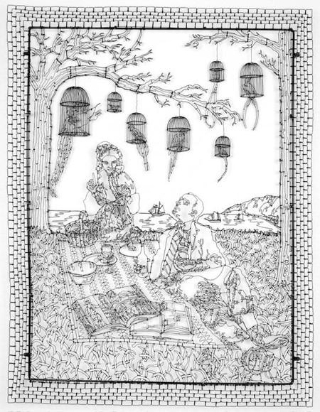 Проволочные фантазии C.W. Roelle — фото 35