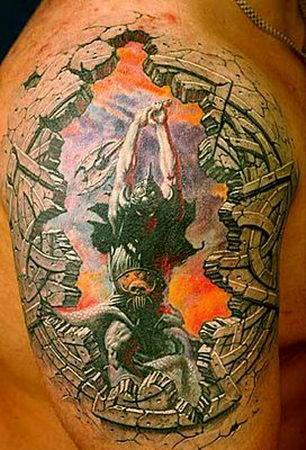 Татуировки в формате 3D – искусство или …? — фото 21
