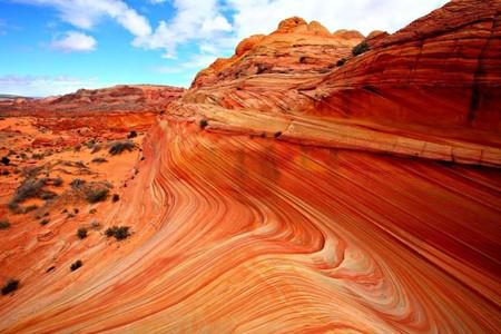Аризонская Волна – уникальный природный пейзаж — фото 11