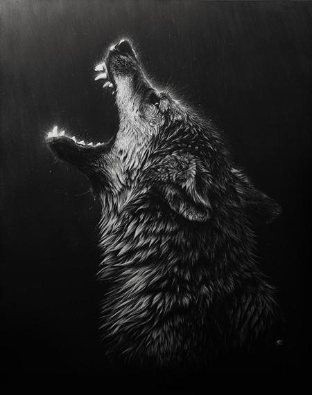 Картины в технике скрэтчборд от Кристины Пенеску — фото 8