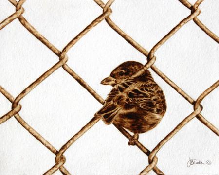 Пирография – горячая живопись Джулии Бендер — фото 21