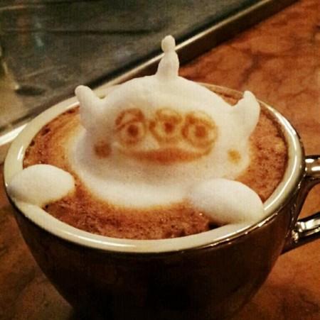 3D везде, даже в кофейной пенке! Продвинутый латте-арт от Kazuki Yamamoto — фото 3