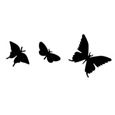 Комплект бабочек можно заказать отдельно