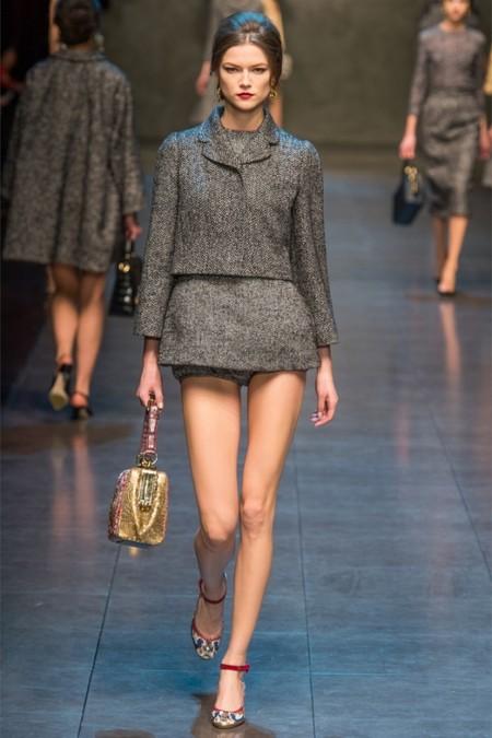 Dolce & Gabbana осень-зима 2013-2014 – когда всего слишком много — фото 20