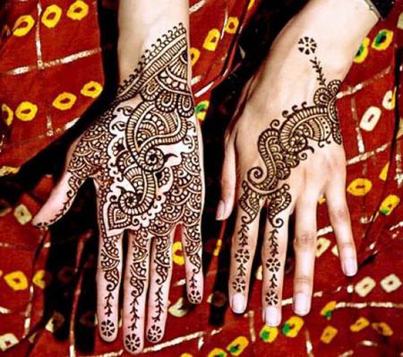 Менди – украшение не только для индийских принцесс — фото 15