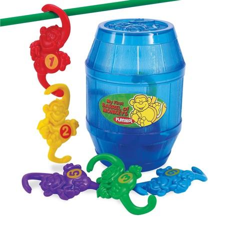 А это источник вдохновения Адама для Monkey Pots )) — та самая детская игра«Barrel of Monkeys»
