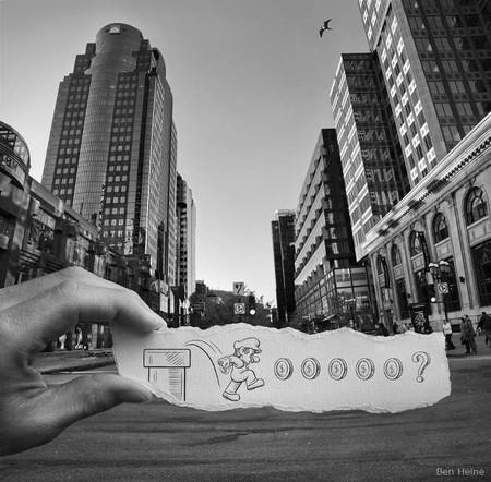 Карандаш против камеры – проект Бенджамина Хейна — фото 25