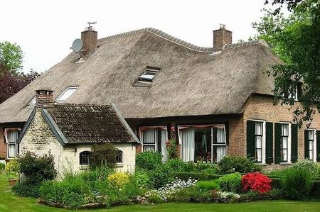 Голландская Венеция – деревня Гитхорн без дорог — фото 17