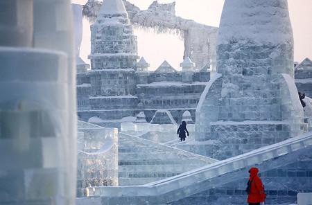 Фестиваль Ледяных дворцов в китайском Харбине – зимняя сказка — фото 13